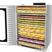 食物乾燥機 大型芒果水果茶水果烘干機食品食物果蔬脫水風干機干果機商用YTL 免運