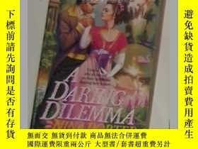 二手書博民逛書店英文原版罕見Daring Dilemma (Regency Ro