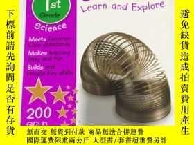 二手書博民逛書店Science罕見Learn and Explore 1st Grade 科學學習與探索一年級 DKY3437