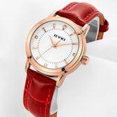 流行女錶超薄手錶女時尚潮流防水正韓簡約皮質帶女士手錶石英錶wy