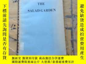 二手書博民逛書店The罕見Salad GardenY11418 Elizabet