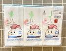 【震撼精品百貨】Shin Kan Sen 新幹線~三麗鷗 新幹線台灣製紗布手帕(3入)-獨版#00861
