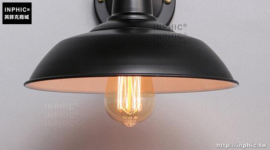 INPHIC- 美式鄉村咖啡館鐵藝樓梯走廊陽臺單頭工業懷舊復古壁燈-C款_S197C