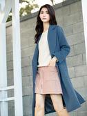 秋冬8折[H2O]A字中間拉鍊設計細條絨布短裙 - 黃/綠/藍/粉色 #9652012