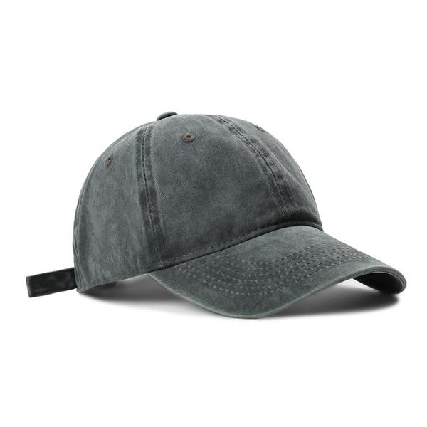 帽子女鴨舌帽軟頂韓版ins百搭水洗純色棒球帽休閑男士日系牛仔帽