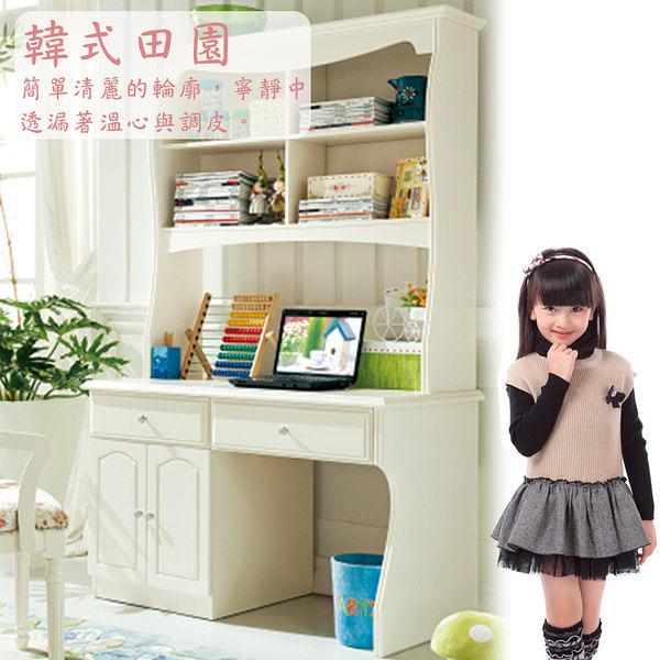 [紅蘋果傢俱] JYX 802 韓式田園 鄉村風 書桌 桌子 4尺 寫字桌 (另售轉椅)