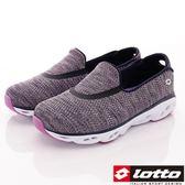【LOTTO】風洞健走鞋-LT7AWX5088-灰藍-女段-0