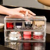 收納盒 (3格有蓋)高級壓克力彩妝收納盒 【BSF003】SORT