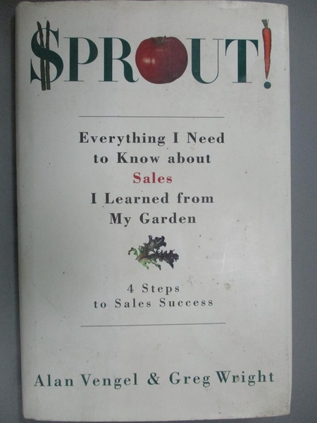 【書寶二手書T9/行銷_GGC】SPROUT_Alan A. Vengel, Greg Wright