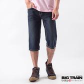 Big Train 基本款牛仔短褲-男-深藍-BS500179(領劵再折)