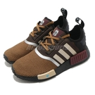 adidas 休閒鞋 NMD R1 J 咖啡 酒紅 黑 星際大戰 女鞋 大童鞋 三葉草 曼達洛人【ACS】 GZ2745