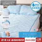 涼墊 QMAX 涼感保潔床墊枕墊-雙人 ...