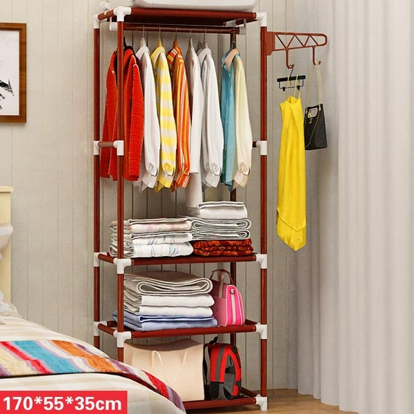 掛衣架室內衣服架臥室門廳儲物簡易衣架