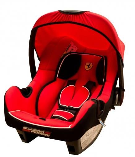 『121婦嬰用品館』Ferrari 法拉利 提籃式汽車安全座椅/汽座(紅色) 法國原裝進口 FB00009