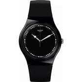 Swatch  閃爍黑夜經典石英腕錶   SUOB131