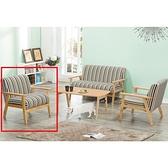 沙發 BT-112-1 1號單人椅 (不含茶几)【大眾家居舘】