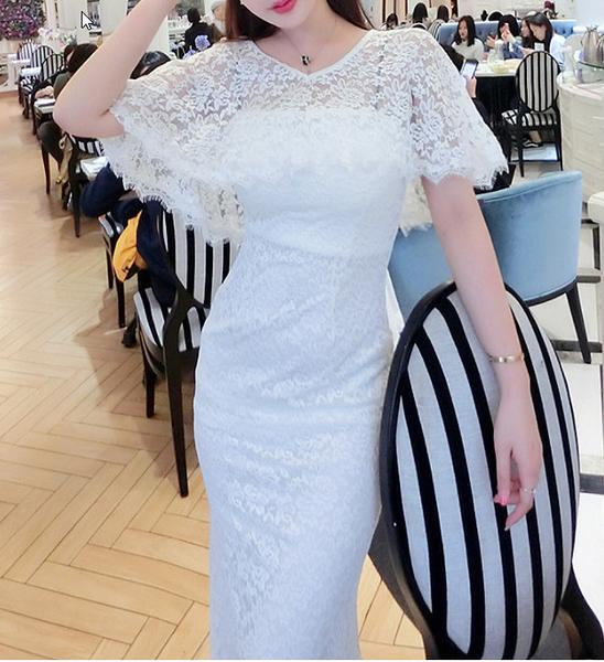 (45 Design)  訂做7天到貨 韓風婚紗禮服  高級訂製服洋裝連身裙團服訂製設計風格禮服 6