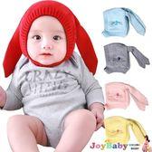 寶寶帽子嬰兒加絨毛線帽-可愛長耳朵造型保暖護耳帽-JoyBaby