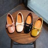 女童公主鞋 童鞋女童皮鞋春秋季小女孩中大童單鞋兒童鞋子公主鞋學生豆豆鞋子   寶貝計畫