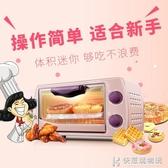 烤箱小家用 迷你小型烘焙蛋糕全自動電 220VNMS快意購物網