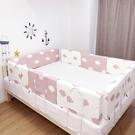 兒童床邊防護欄寶寶防摔床圍護欄擋板軟包通用嬰兒防掉防撞神器 ATF青木鋪子