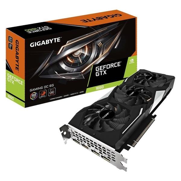 技嘉 GeForce GTX 1660 GAMING OC 6G (GV-N1660GAMING OC-6GD)【刷卡含稅價】