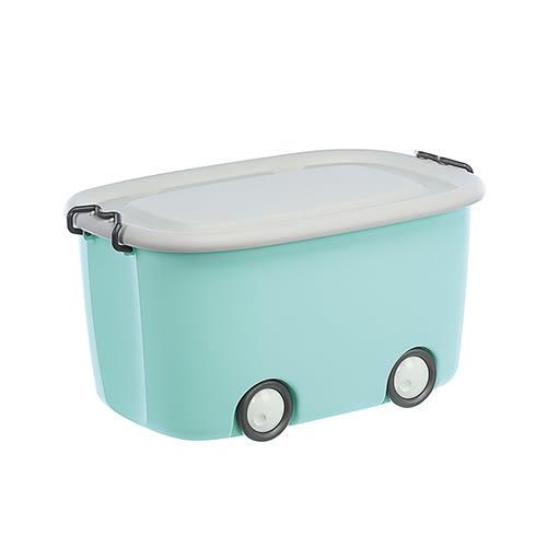 KEYWAY 大寶滑輪整理箱KE-661(藍)【愛買】