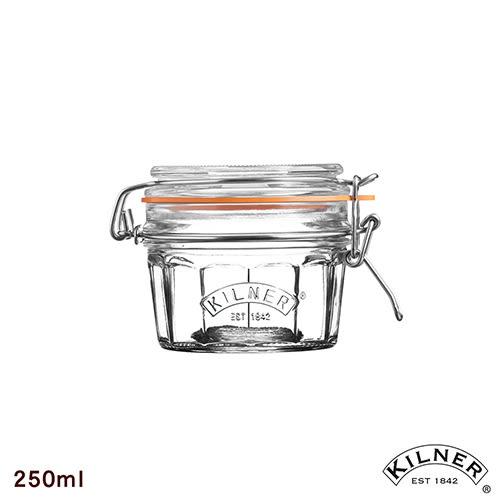 【KILNER】復古扣式密封貯存罐 250ml