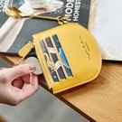新鮮貨 韓國版ins小錢包女士零錢包小迷你簡約手拿硬幣包駕駛證卡包
