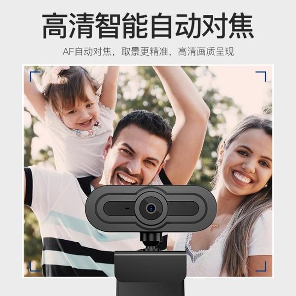 usb外置攝像頭高清美顏1080P電腦台式機帶麥克風話筒考研復試 {快速出貨}