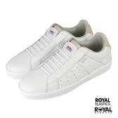 Royal Elastics Genesis 白色 皮質 套入 運動休閒鞋 女款 NO.J0516【新竹皇家 91902-016】