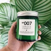 聖誕節交換禮物-小螢火綠瓶純天然大豆蠟手作香薰蠟燭香氛蠟燭