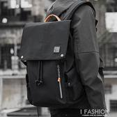 潮牌男士雙肩包ins 超火韓版中大學生書包大容量休閒包背包男