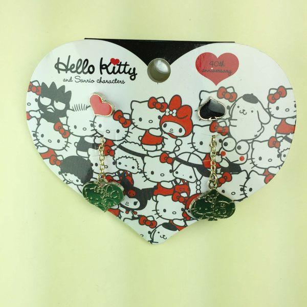 【震撼精品百貨】Hello Kitty 凱蒂貓~耳環-凱蒂貓、美樂蒂、庫洛米造型