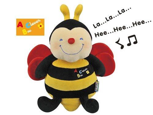 書立得-【美國Ks Kids】可愛的蜜蜂A Singing & Laughing Bee