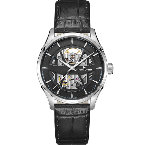 Hamilton 漢米爾頓 JAZZMASTER 爵士系列 SKELETON AUTO機械錶 H42535780