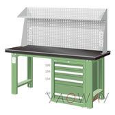 【耀偉】天鋼 單櫃型(鉗工)工作桌WAS-57042A5 含組裝(工作台,工業桌,機台桌)