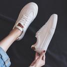 百搭基礎小白鞋女春款春季新品正韓學生板鞋平底休閑女鞋白鞋