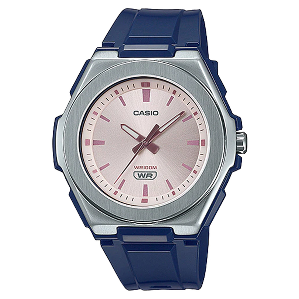 CASIO 手錶專賣店卡西歐 LWA-300H-2E 簡約指針女錶 矽膠錶帶 100米防水 LWA-300H