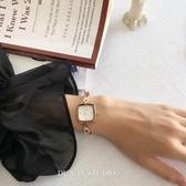 方形手錶毒宴 文藝森系手鏈錶氣質手錶女2020新款復古小巧方形手錶學生錶 玩趣3C