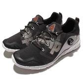 【六折特賣】Reebok 慢跑鞋 Zpump Fusion 2.0 2代 充氣設計 運動 路跑 黑灰 女鞋【PUMP306】 V72554