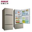 【南紡購物中心】SANLUX台灣三洋 580L 三門直流變頻電冰箱 SR-C580CV1A