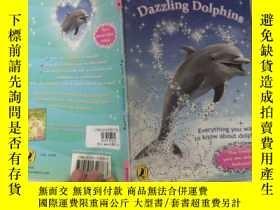 二手書博民逛書店dazzling罕見dolphins 耀眼的海豚Y200392