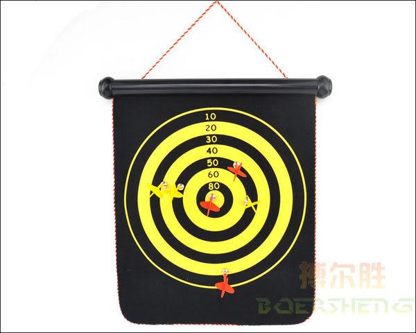 安全靶磁性飛鏢靶  送6支鏢