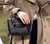 ■ 現貨在台■專櫃88折■ Celine 全新真品 珠地小牛皮 Pico Belt 包 黑色