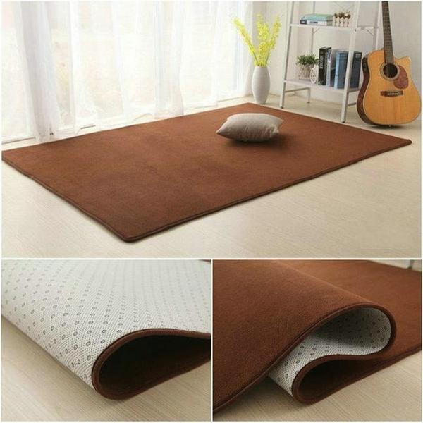 地毯 珊瑚絨加厚客廳茶幾地毯臥室滿鋪地毯床邊毯榻榻米地墊