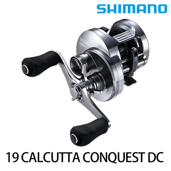 漁拓釣具 SHIMANO 19 CALCUTTA CONQUEST DC 200/201 [兩軸捲線器]