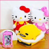 《5.5吋》Hello Kitty 凱蒂貓 蛋黃哥  正版 娃娃玩偶 觸控手機包 側背包 斜背包 收納包 A03097