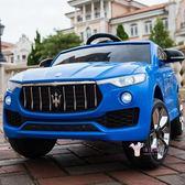 電動車 嬰兒童電動車玩具車越野車四輪遙控可坐人帶搖擺小男女孩寶寶童車T 3色
