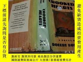 二手書博民逛書店原版英法德意等外文罕見英文原版 Crooked Hearts 偷